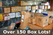 Over 150 box lots!