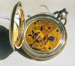 U.S. Watch Co. Marion with butterfly cutout.